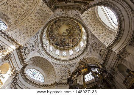 Church Of The Val De Grace, Paris, France