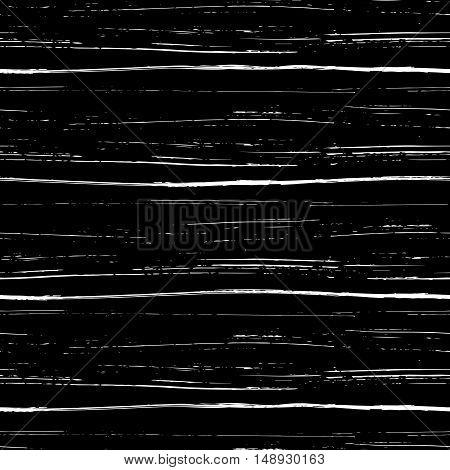 Seamless pattern of brush strokes. Grungy seamless texture. Vector illustration.
