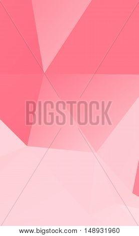 abstract Light pink polygonal illustration texture .