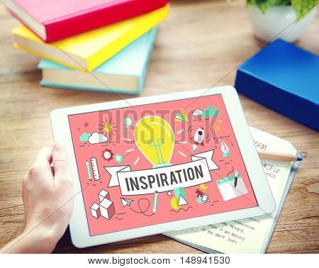 Inspiration Creation Solution Ideas Motivation Concept