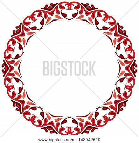 Illustrated Decorative Circle