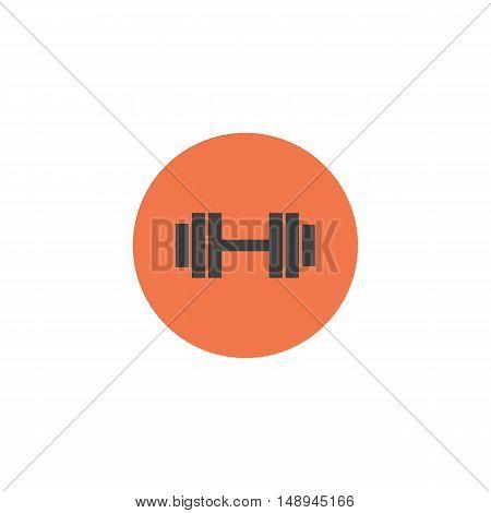 Dumbbell vector illustration. Sport icon. Dumbbell icon. Gym equipment