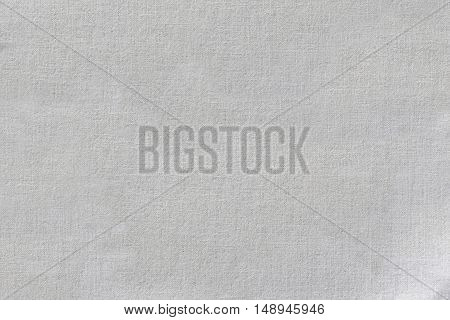 surface of the white fabric wrinkles background for design object backdropTexture of textile fibers.