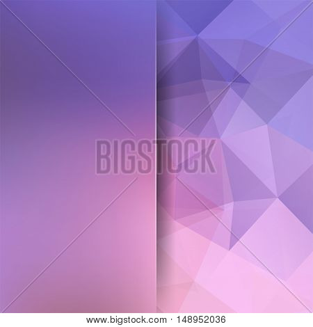 Abstract Background Consisting Of Triangles. Geometric Design For Business Presentations Or Web Temp