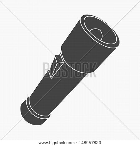 Flashlight icon of vector illustration for web and mobile design