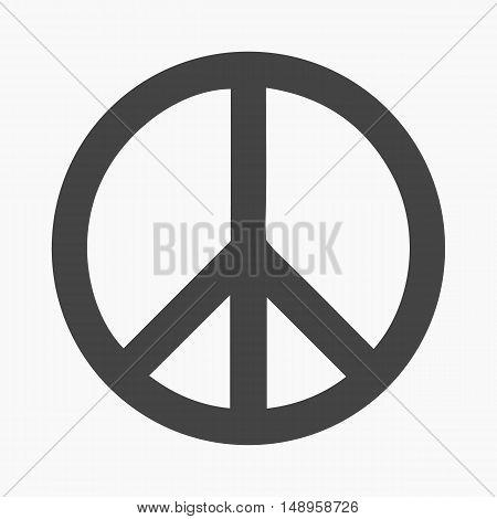 Gay icon simple. Single gay icon from the big minority, homosexual black.