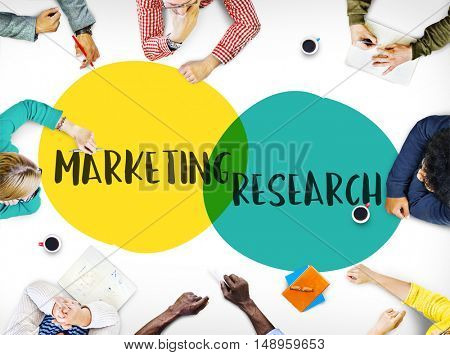 Marketing Research Ideas Motivation Circles Concept