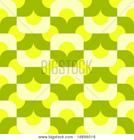 seamless mod pattern in citrus