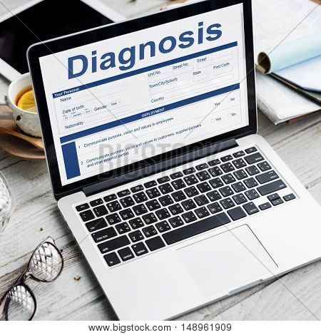 Diagnosis Clinical Document Personal Informatin Concept