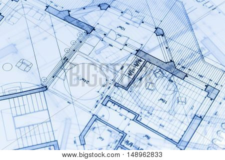 architecture blueprints & house plans