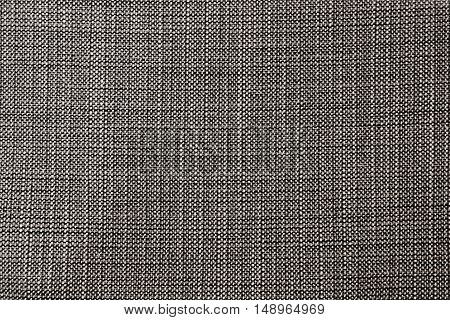 Fabric Texture Close Up of Black Fabric Texture Pattern Background.