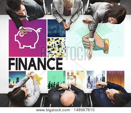 Accounting Banking Finance Revenue Graphic Concept