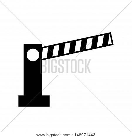 access bar parking icon vector illustration design