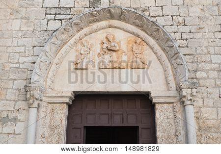 Mother church of St. Nicola. Rutigliano. Puglia. Italy.