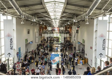 People Visit The Photokina In Cologne