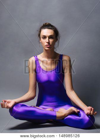 Pretty Sporty Woman In Jumpsuit