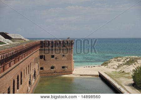 Fort Jefferson view