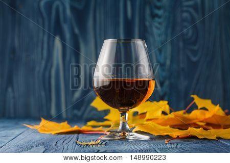 Autumn Alcohol Drinking