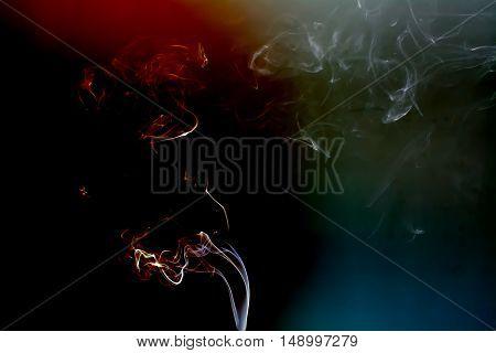 Colorful Smoke