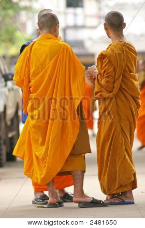 Monks Talking
