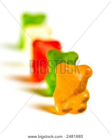 Gummy Bear Row 3