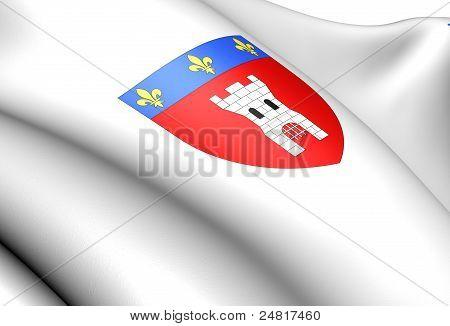 Tournai Coat Of Arms, Belgium.