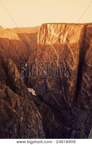 Black Canyon do Parque Nacional de Gunnison