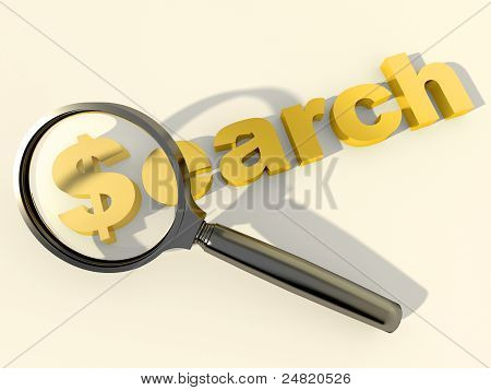 Search And Magnifying Glass