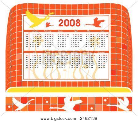 2008 Birds Calendar