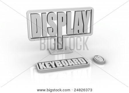Computador conceito