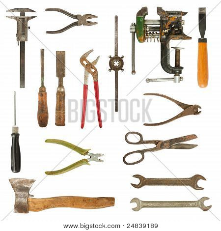 Old Used Tools Collection