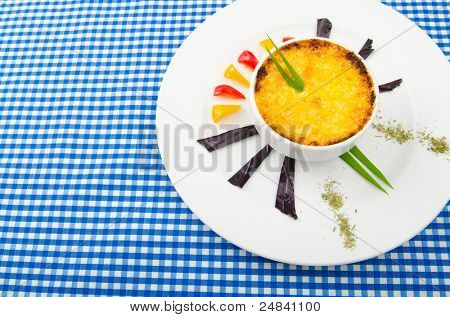 French cuisine - Mushroom en cocotte