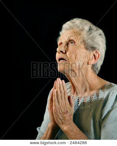 Religious Senior Citizen