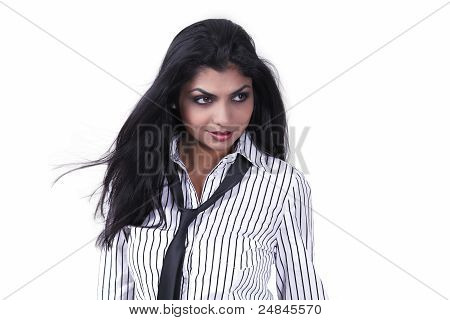 Trendy Ethnic Girl