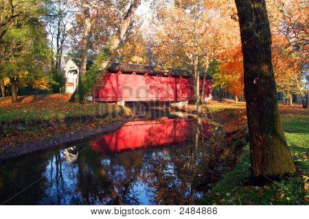 Autumn Sunrise Bridge