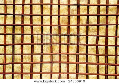 Eastern Decor Crisscross Grid Lattice Background