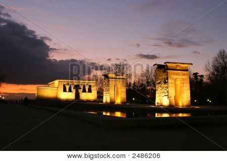 Debod'S Temple From Egypt