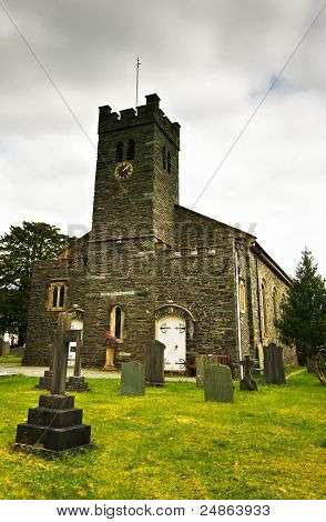 Coniston iglesia