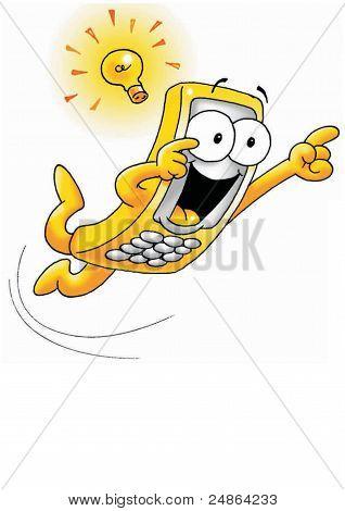 Cell Phone Bright Idea