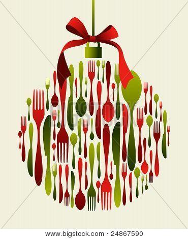 Christmas Bauble Cutlery