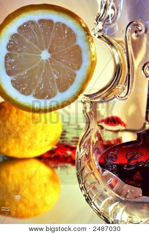 Lemon, Bottle, Alcohol, Drink, Water, Refreshment, Cool,