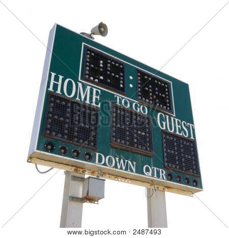 High School Score Board