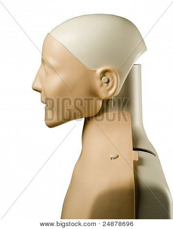 First Aid Medical Mannequin Dummy Side View