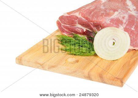 Piece of pork for roasting