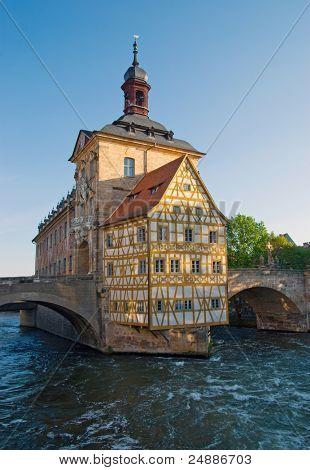 CÂ¡ity hall in Bamberg, Germany
