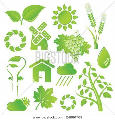 Vector Set of Nature Icons