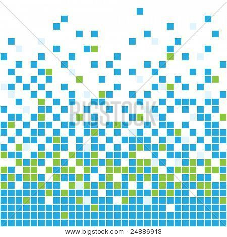 Seamless mosaic background. See vector version in my portfolio