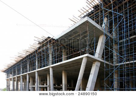 Modern Concrete Building Construction