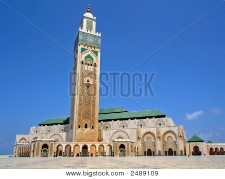 Casablanca-Hassan Ii Mosque
