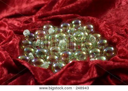 Iridescent Christmas Balls